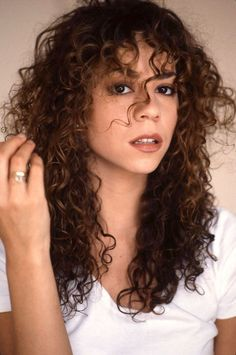 Image result for 90s curly hair