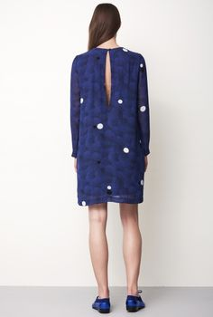 DRESS CANDICE MOONS BLUE | Rodebjer
