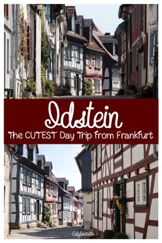 Just a thirty minute drive away from Frankfurt, the financial capital of Germany, where the hustle and bustle of live can sometimes be overwhelming, you can escape to a fairy-tale town deep in the …