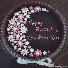 11 Best Cake Images Birthday Cakes Happy Birthday Cakes Cake Name