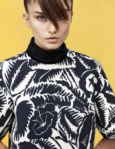 Andreea Diaconu by Collier Schorr for Self Service Magazine #40 Spring/Summer 2014