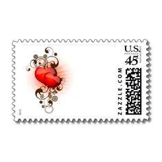 Hearts-and-Swirls Stamps by karabunda