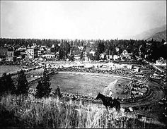 What we know as McEuen Baseball field was once the Kootenai County Fairground in the and The picture shows a race track. County Fairgrounds, Coeur D'alene, Picture Show, Idaho, East Coast, Places Ive Been, City Photo, Pictures, Outdoor