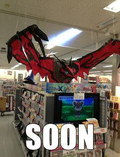 Pokémon X & Y Soon.