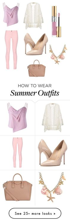 "Collection Of Summer Styles    ""Summer Date Outfit"" by lsantana13 on Polyvore featuring ADRIANA DEGREAS, Maison Kitsuné, Massimo Matteo, Givenchy and Yves Saint Laurent    - #Outfits  https://fashioninspire.net/fashion/outfits/summer-outfits-summer-date-outfit-by-lsantana13-on-polyvore-featuring-adriana-degreas-maison/"