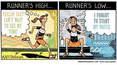 Funnies You'll Enjoy It You're A Runner #6: Runner's and Their Garmins