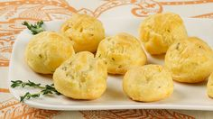 Gouda Bacon Puffs - Recipes - Best Recipes Ever - These puffs are actually classic profiteroles with a bit of a twist.
