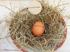 Personalized Egg Stamp