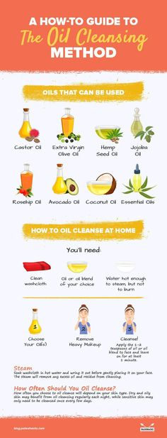 Oil cleansing should actually be used MORE frequently by those with oily skin. There's also a variety of oils that work for oil cleansing, so you can test out a few and use your favorite. Skin Tips, Skin Care Tips, Mac Cosmetics, Anti Aging Creme, Oil Cleansing Method, Oil Cleansing For Acne, Coconut Oil For Acne, How To Get Rid Of Acne, Acne Skin