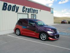 PT CRUISER CUSTOM | Auto Body Crafters site shows 4 views
