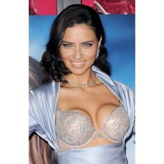 Adriana Lima At In-Store Appearance For Unveiling Of 2 Million Bombshell Fantasy Bra By Damiani For VictoriaS Secret Canvas Art - (16 x 20)