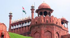 """Red Fort"" by TravelPod blogger karlamato from the entry ""13 settembre Delhi"" on Saturday, September 13, 2014 in Delhi, India"
