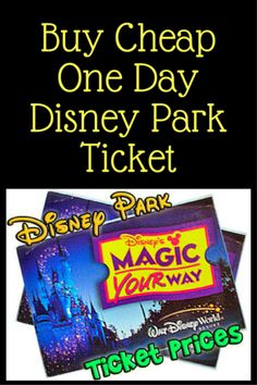 So you are going to Disney for just one day and you need to know how to get cheap tickets. well that's hard. Disney World Tickets Cheap, Disney World Park Tickets, Disney World Deals, Walt Disney World Orlando, Disney Tickets, Disney World Vacation Planning, Walt Disney World Vacations, Top Travel Destinations, Buy Cheap