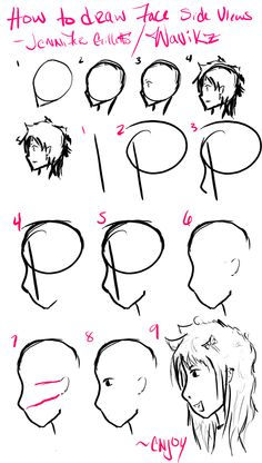 how to draw anime - Google Search