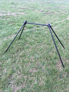 Gong Stands - FREE SHIPPING! Shooting Stand, Diy Camping, Camping Ideas, Shooting Targets, Welding Projects, Metal Working, Free Shipping, Firearms, Super Easy