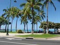 Waikiki Beach,Hawaii  ハワイ・ワイキキビーチ