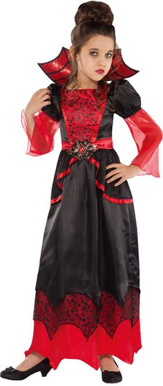 Vampire Queen - girls Halloween costume