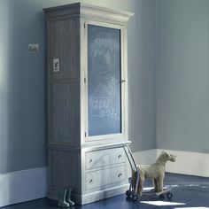 Rowen and Wren - Whitby Chalkboard Pantry Cupboard Classic Bedroom Furniture, Accent Furniture, Childrens Wardrobes, Pantry Cupboard, World Of Interiors, Chalk Paint Furniture, Kids Bedroom, Kids Rooms, Interior Design Inspiration