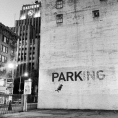 Banksy's Wall Art - Fashion District - Los Angeles, CA