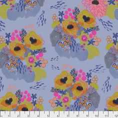 FreeSpirit presents Flowerfield in Morning as part of the Flower Market collection by Courtney Cerruti for Anna Maria's Conservatory. Quilting Projects, Sewing Projects, Morning Flowers, Flower Market, Star Flower, Cotton Quilts, Cotton Fabric, Modern Fabric, Color Theory