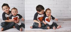 children's photography, little boys, brothers, superhero
