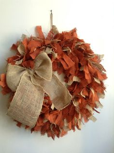A personal favorite from my Etsy shop https://www.etsy.com/listing/161882590/fall-wreath-autumn-wreath-burlap-fall