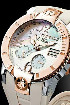 """""""La colección de relojes Mulco Ilusion Crescentse caracteriza principalmente por su estilo Barroco y Cautivador""""  MW5-1877-113"""