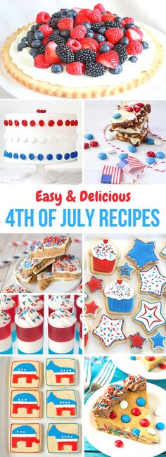 4th of july quick recipes