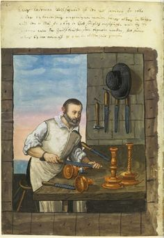 Retronaut - 1500s: Crafts and trades, Germany: