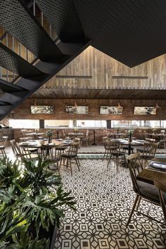 La Tequila South Restaurant / LOA  Restaurant Design, Restaurant Furniture, Restaurant Trends