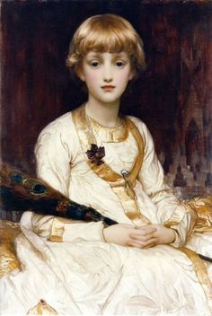 Soyouthinkyoucansee Yasmeenah by Lord Frederic Leighton (1830-1896)
