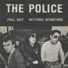 """The Police - Fall Out [1977, Illegal Records 001│U.K.] - 7""""/45 vinyl record"""