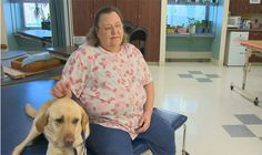 Therapy dog helps patients recover from strokes (WBAL-TV NBC 11)