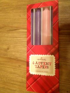Hallmark Advent Taper Candles Set of 4 Boxed -- Check out this great product.