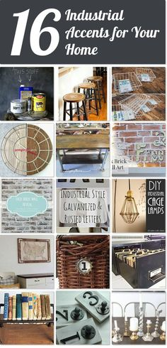 16 industrial accents for your home | Hometalk