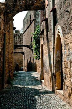 Rhodes Island, Greece / Medieval City