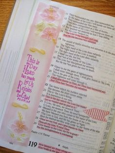 A Palette Full of Blessings....Journaling Bible....I used vellum for this page....