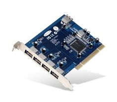 Belkin Hi-Speed USB 2.0 5-Port PCI Card by Belkin. $17.50. Belkin f5u220vea1 usb 2.0 hi-speed 5-port pci cardbelkin's hi-speed usb 2.0 card is here bringing with it astounding 480mbps speed to usb connectivity. With a bandwidth 40 times greater than 1.1 it is the ideal interface for transferring extremely large amounts of data from usb 2.0 compliant products such as real time video cameras, scanners, portable drives and others. Belkin's hi-speed usb 2.0 5-port...