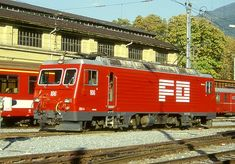 HGe 4/4 II 106 (Foto: Manfred Möldner) Locomotive, Trucks, Train, Vehicles, Truck, Zug, Rolling Stock, Locs, Strollers