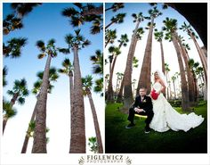 Carrie and Jerry are one of those couples that are so full of energy you want to be around them all the time. Their friends and family are the same way, which made their wedding an awesome party! They got married at the Hotel Maya in Long Beach, Ca. The Hotel Maya is bursting with ...