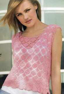 DE  MIS  MANOS  TEJIDOS  Y  MAS...: Cinco lindos modelos a crochet