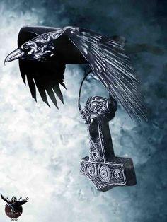 ravens in viking art - Google Search