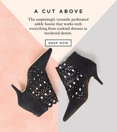 Shop The Rashida Perforated Bootie At The Official Loeffler Randall Online Store…