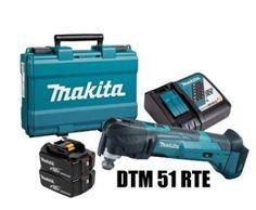 MAKITA MULTI TOOL CORDLESS DTM 51 RTE Makita, Nerf, Outdoor Power Equipment, Tools, Instruments, Garden Tools