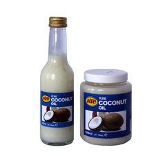 KTC kokosolie 250ml in fles en KTC kokosolie 500ml in pot (BUNDELPAKKET)
