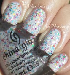 It's a Trap-eze-- China Glaze Cirque du Soleil: Worlds Away Collection Swatches