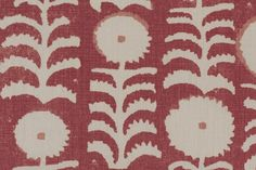 Penny Morrison--Killi Red fabric