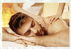 Sore back? Sounds like you need one of our professional, mobile, intensive & focused Back, Neck & Shoulders massage!
