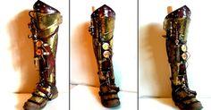 Inquisitor Steampunk Half Leg by Skinz-N-Hydez.deviantart.com on @deviantART
