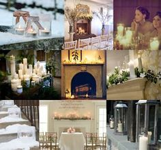 Romantic winter wedding inspiration.